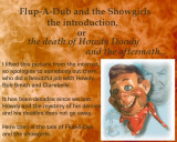 Howdy, Flub A Dub and the showgirls, prologue