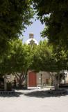 Aguime Church Trees
