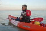 Steve Kayaking off Broadstairs
