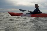 Laura Kayaking Westgate Bay