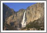 Yosemite Fall Red Chapel