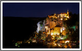 Rocamadour in early night