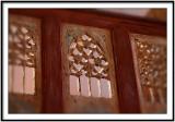 Detail Inside the chapel