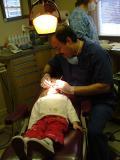 Ok, crossbite, lets count the teeth..1.2.3...