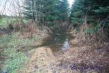 spillway overflow path