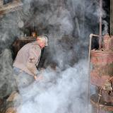 Gene feeding the boiler ----- IMG_0845a.jpg