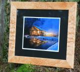 Framed Sawmill Print