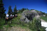 And up the hill  (Tatoosh Ridge)