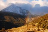 Rainbows amidst the first snow