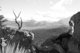 Looking out over the Eastern Sierras