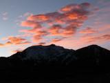 Sunset at Mammoth Mtn.