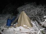 Snow of Desolation Canyon