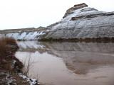 Snow on Desolation Canyon