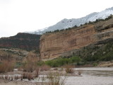 Snow on the Yampa