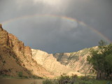 Rainbow over Gray Canyon