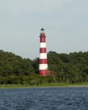 Assateague Light from the Bay