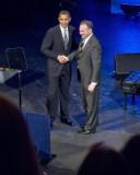 President Barack Obama and Governor Tim Kaine at DNC Fundraiser