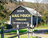 Mail Pouch Tobacco Barns in West Virginia