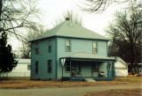 This is the Edward Ernest Coatney house as it appeared in 1996.