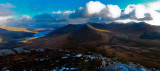 Panorama of Connemara National Park
