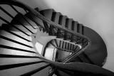 Stairwell at Logan Brown