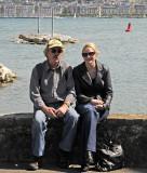 on the shores of Lake Geneva