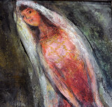 Detail from Chagall's work - Musee de Beaux Art, Lyon