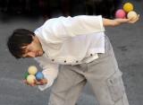 man with balls