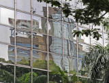 cityscape reflections - Kowloon (Hong Kong)