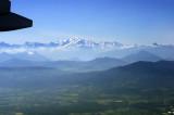 Mt Blanc on the flight from Geneva to Prague