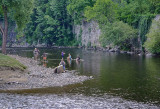 Vltava - fishing, swimming, cooling off, rafting
