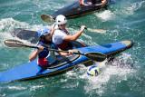 Canoe polo at Amalfi
