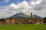 Vesuvio in the background