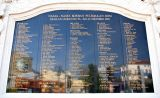 Names of the innocent victims of the 2002 Bali bombings