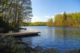 Lake Immeln, in Skåne, Sweden