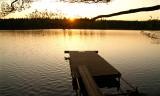 Sunset at Lake Immeln, Sweden