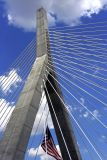 The Zakim Bridge with Clouds