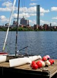Hancock Tower and the Charles River