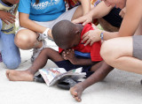 JOHN PARRA ,NLM AND HANDS OF GOD AT MISSION OF HOPE IN HAITI DAY4