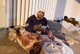 JOHN PARRA'S FOUNDATION AND NLM GIVE HOT CHOCOLATE AND QUILTS TO THE HOMELESS!! ON 12-13-10