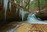 Winter in the Red River Gorge. Kentucky