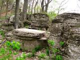 West pinnacle Sumit ridge boulder