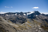 View from Avalanche Peak towards Mt.Rollasten