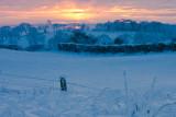 Winter Landscape in Ireland