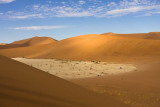 Looking Down onto Deadvlei Namibia
