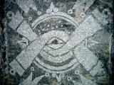 Anahuacalli Olin Symbol Mosaic