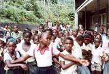 Grenadian school kids 1983