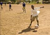 Soccer at Muungano School