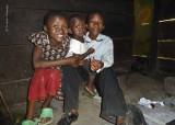 Children in the Kitchen Hut