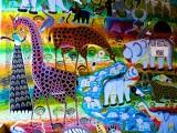 Mural in Moshi